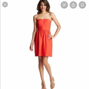 Loft strapless dress